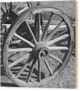 Wagon Wood Print