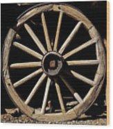 Wagon Wheel Texture Wood Print