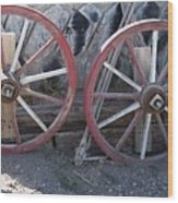 Wagon Wheels. Wood Print