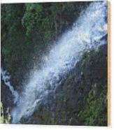 Wah Gwin Gwin Falls 2 Wood Print
