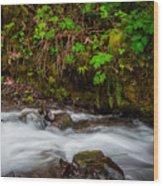 Wahkenna Creek Wood Print