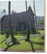 Wai Oli Hui Ia Church Wood Print