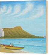Waikiki Wonder Wood Print