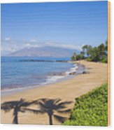 Wailea, Ulua Beach Wood Print