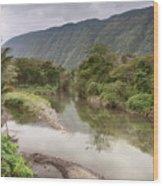 Wailoa Stream Wood Print