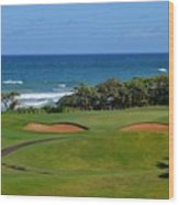 Wailua Golf Course - Hole 17 - 1 Wood Print