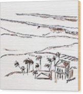 Waimea Bay Morning View Wood Print