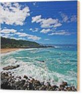 Waimea Bay Wood Print