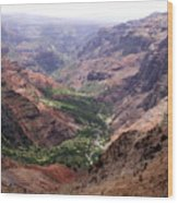 Waimea Canyon 1 Wood Print