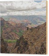 Waimea Canyon 4 Wood Print