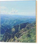 Waimea Canyon, Kauai Wood Print