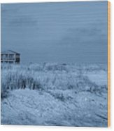 Waiting For Summer - Jersey Shore Wood Print