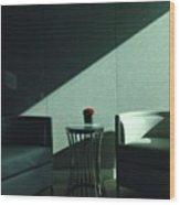 Waiting Room, Greenberg-traurig Wood Print