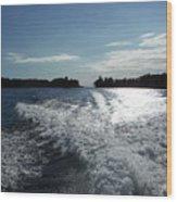 St. Lawrence Intercoastal Waterway Wood Print