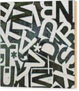 Wake My Burn Dust Xiv Wood Print by Jason Messinger