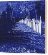 Waking In The Night Wood Print