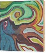 Waking Wood Print