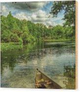 Wakiva Springs Wood Print