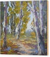 Wakkerstroom Gums Wood Print