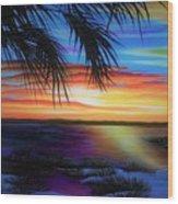 Wakulla Beach Morning Wood Print