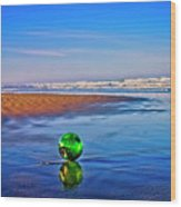 Waldport Oregon - Float The Ocean Wood Print