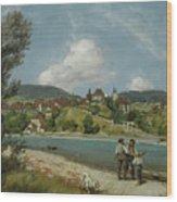 Waldshut Wood Print