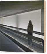 Walk-a-matic At Orlando Airport Wood Print