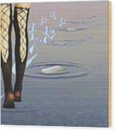 Walk On Water Wood Print