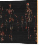 Walk The Walk Wood Print