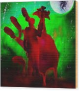 Walking Dead Daryle Wood Print