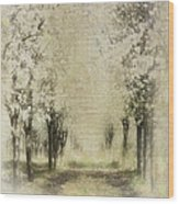Walking Through A Dream IIi Wood Print