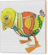 Walkingbird Wood Print
