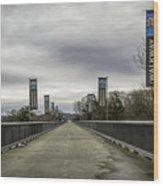 Walkway Over The Hudson Wood Print