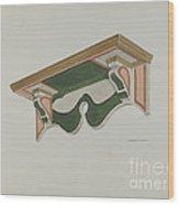 Wall Bracket (ecclesiastical) Wood Print