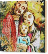 Wall Icon In Malta 06 Bis Wood Print