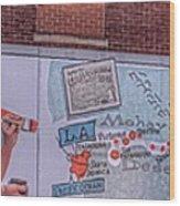 Wall Mural In Pontiac, Illinois Wood Print