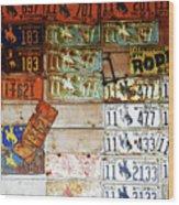 Wall Of Wyoming  Wood Print