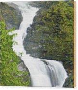 Wallace Falls Wood Print
