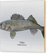 Walleye Wood Print