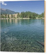 Wallowa Lake No.3 Wood Print