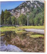 Wallowa Lake Reflections Wood Print
