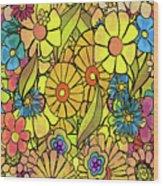 Wallpaper 1972 Wood Print