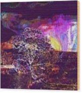 Wallpaper Background Jaguar Forest  Wood Print