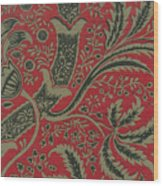 Wallpaper Sample With Bamboo Pattern By William Morris Wood Print