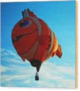 Wally The Clownfish Wood Print