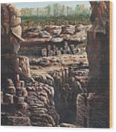 Walnut Canyon Wood Print