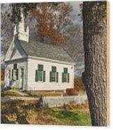 Walnut Grove Baptist Church1 Wood Print