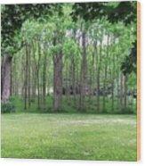 Walnut Grove Wood Print