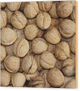 Walnuts Wood Print