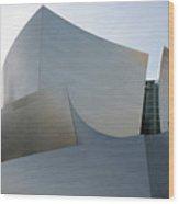 Walt Disney Concert Hall 11 Wood Print